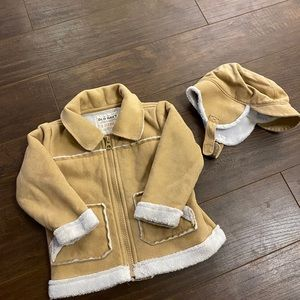 OLD NAVY jacket and hat set